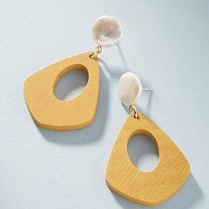 Anthropologie Seaside Drop Earrings